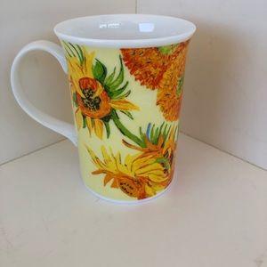 Churchill Fine Bone Chine Sunflower Mug